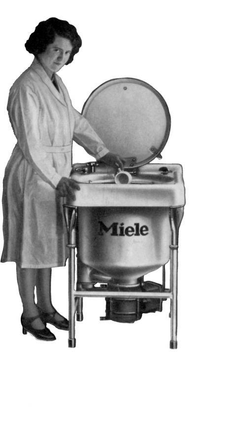 Erste Spülmaschine
